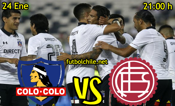 Ver stream hd youtube facebook movil android ios iphone table ipad windows mac linux resultado en vivo, online: Colo Colo vs Lanús