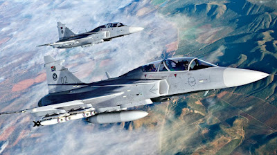 Upgrade para os Gripens da Africa do Sul?