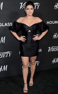 Ariel Winter Wearing Black Dress 2018