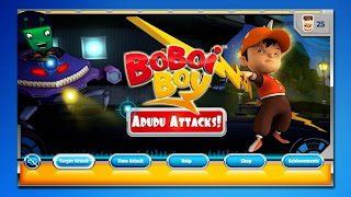 Free download official game BoBoiBoy .APK Full Version + Data