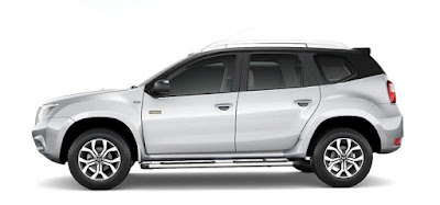 Nissan Terrano AMT side look