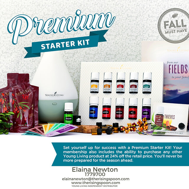 Young Living Essential Oils Premium Starter Kit Deal