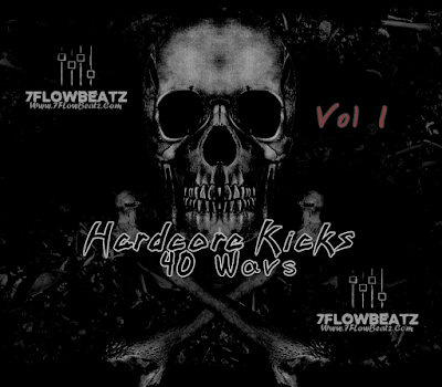 40 Hardcore Kicks By 7FLowBeatz