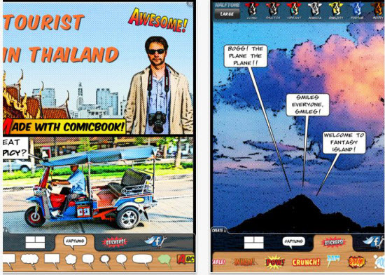 ComicBook App for iPhone
