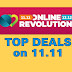 Lazada Online Revolution Top Deals on 11.11 (Part 2)