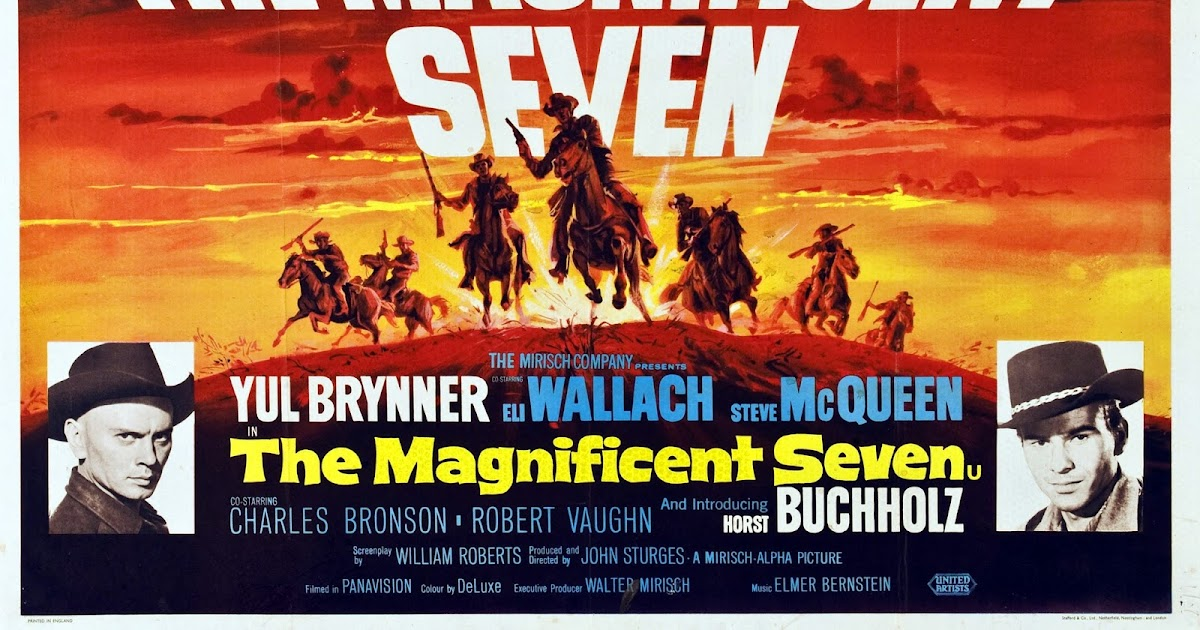 13 8 reasons why the magnificent seven 1960 is the best western movie of all time. Black Bedroom Furniture Sets. Home Design Ideas