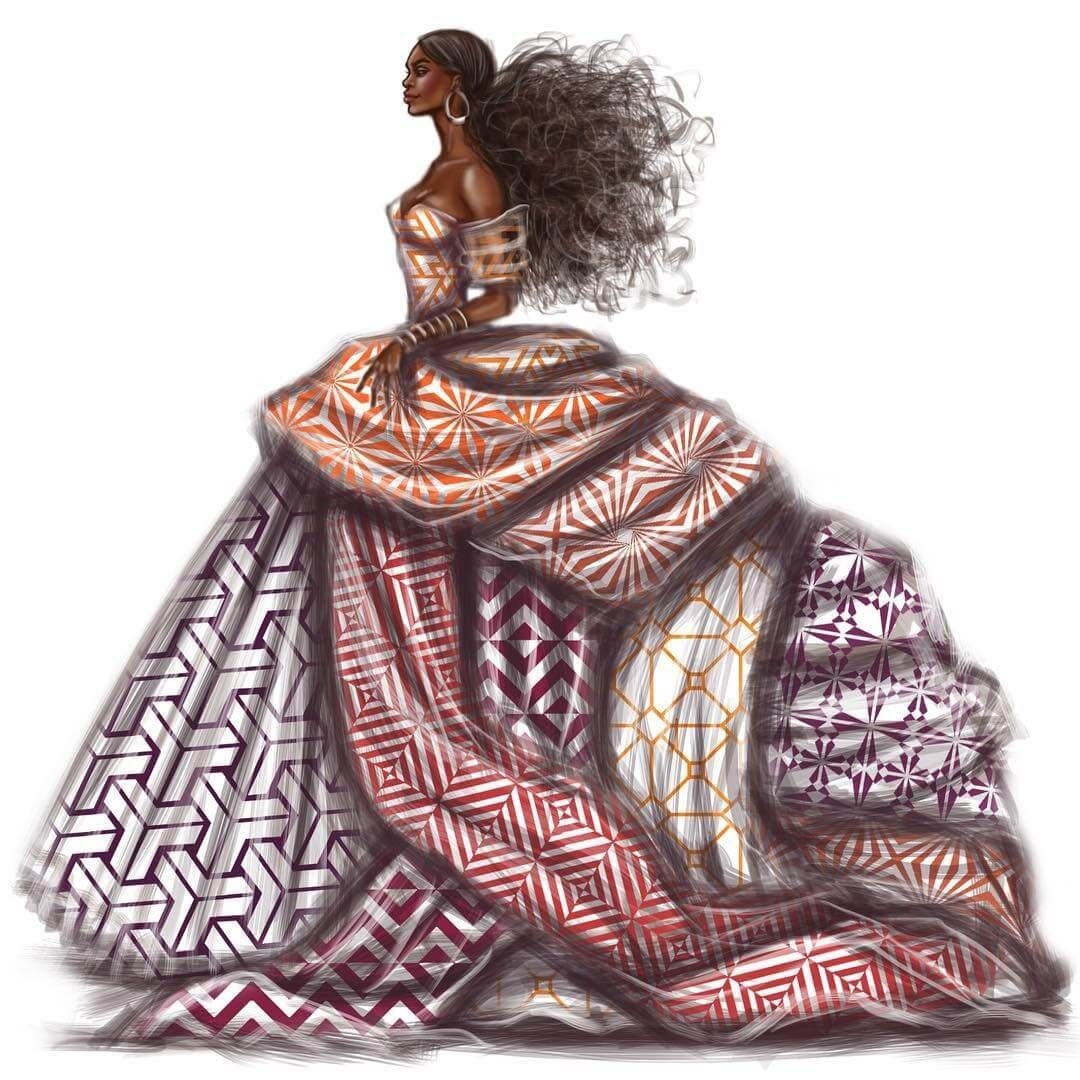 09-Geometric-Patterns-Shamekh-Bluwi-Haute-Couture-Exquisite-Fashion-Drawings-www-designstack-co