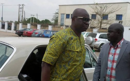 """I'm God's Project, If You Fight Me You Will Fail"" – Fayose"