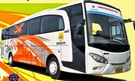 rute, tarif, dan jadwal keberangkatan bus pemandu moda bandara soekarno hatta