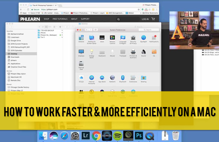 Photoshop: How to Work Faster & More Efficiently on a Mac