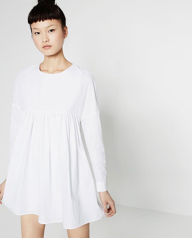 Vestidos cortos baratos zara