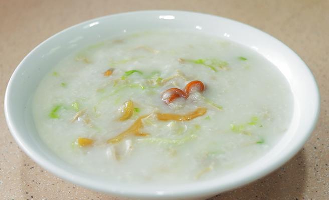 starchy porridge