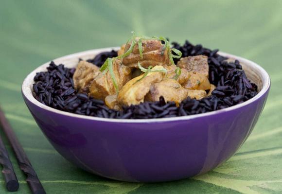 Cabillaud Au Curry Vert
