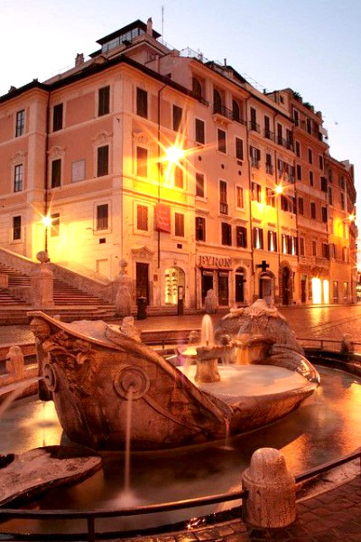 Rome Guide - Piazza di Spagnia