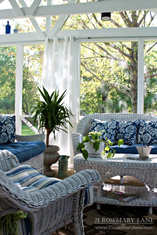 21 Rosemary Lane Easy Diy Galvanized Outdoor Curtain Rod