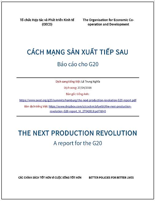 'Cách mạng sản xuất tiếp sau' - bản dịch sang tiếng Việt