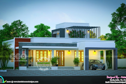 Single Storey Kerala Home Design 2018