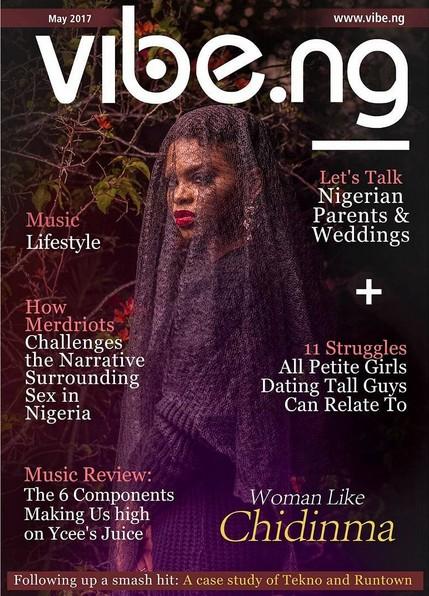 Singer Chidinma Covers Vibe.ng Magazine