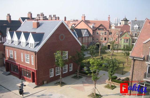 Kota Thames Shanghai China kota mati yang ditinggal penghuninya