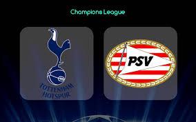 Tottenham vs PSV Eindhoven: Partido EN VIVO / Detalles del Juego por TV