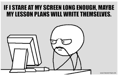 Lesson plans... #teacherproblems