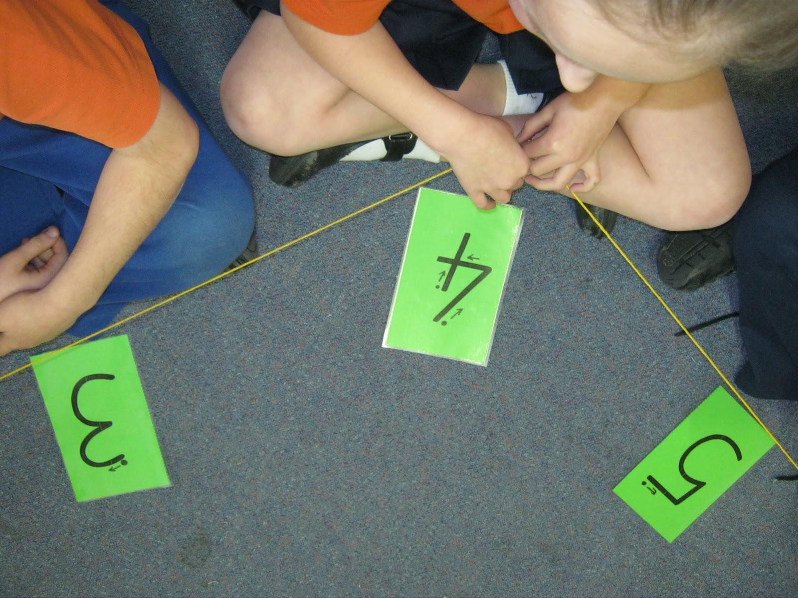 Geometric Multiplication Circles