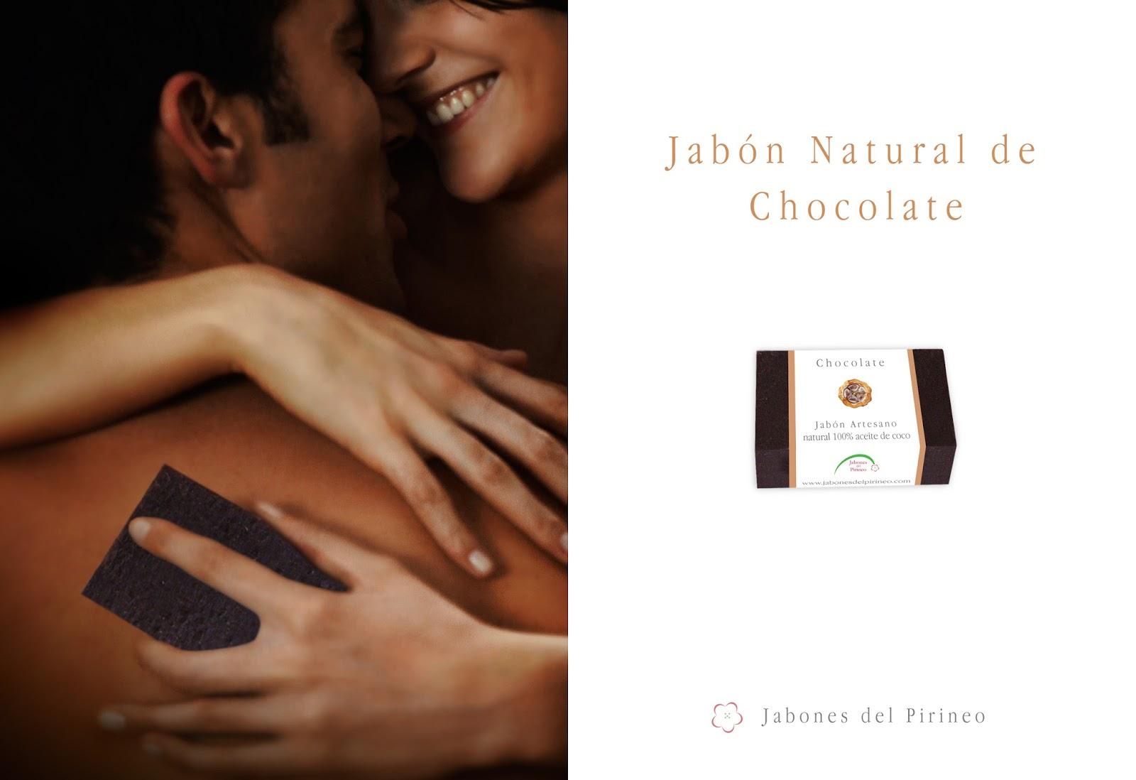Jabón de Chocolate con Base 100% Aceite de Coco