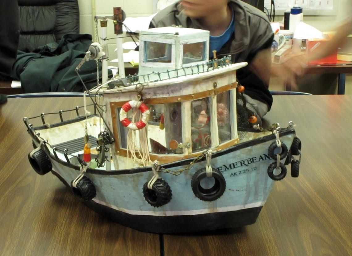 Diederich Trash Craft Alaska Boat For The Bean