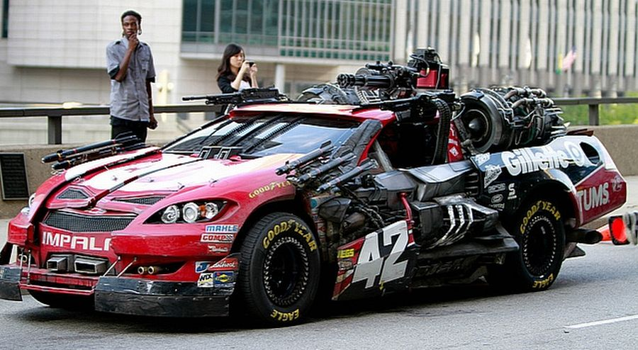 Cars Used In Filming Transformers 3