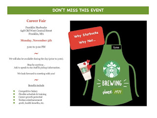 Franklin Starbucks - Hiring Event - Nov 5
