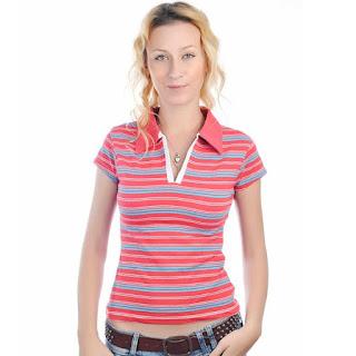 Wanita Juga Tampil Stylish Dengan Polo T-Shirt