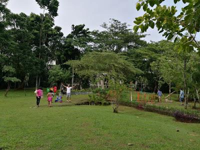 Taman tempat rekreasi, hiburan, dan gaya hidup sehat
