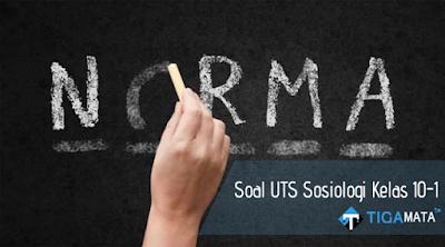 65 Soal dan Jawaban UTS Sosiologi Kelas 10 Semester 1