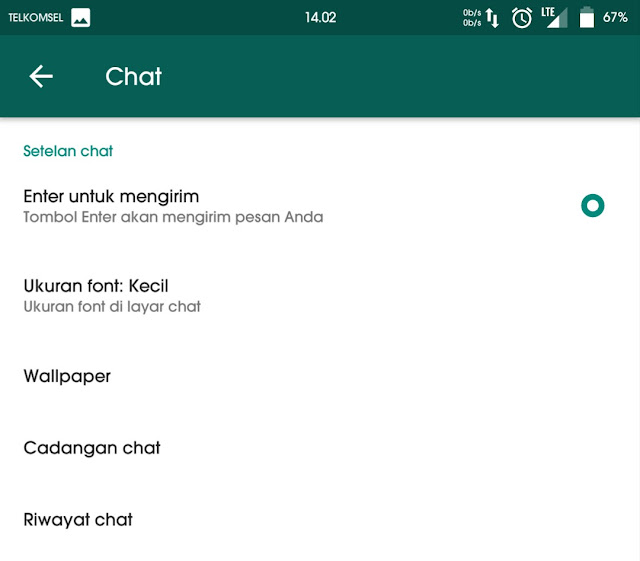 Cara ampuh mengganti background chat whatsapp tanpa root 2