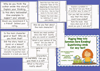 http://www.teacherspayteachers.com/Product/Digging-Deep-Into-Common-Core-Reading-Questioning-Cards-for-any-Text-957923