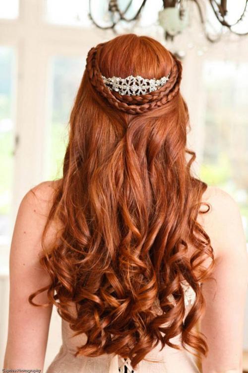 Rápido y fácil peinados años 20 pelo largo Imagen de estilo de color de pelo - Modela tu Cabello: Peinados de Moda para Novias con pelo ...