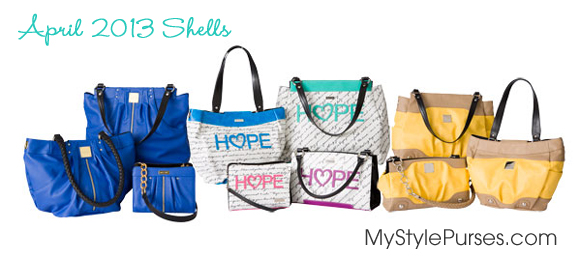 Miche April 2013 Shells Product Release from MyStylePurses.com