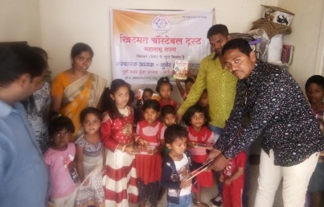 Social worker  जुबेर हमीद बागवान ने सामाजिक उपक्रम  से जन्मदिन मनाया