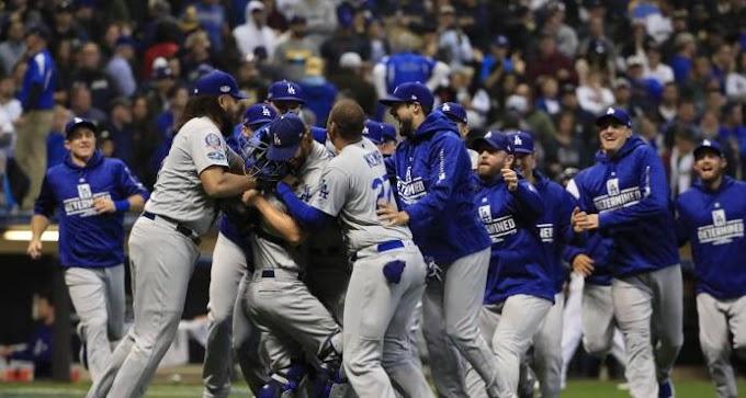 Dodgers logran vigésimo Clásico de Otoño; vencen a Milwaukee y enfrentarán a Boston en Serie Mundial
