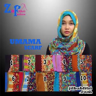 jilbab pashmina umama scarf motif