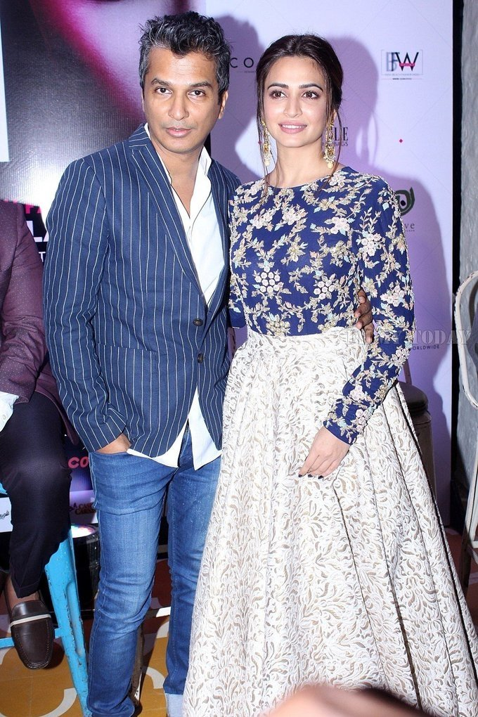Celebrity at Press Conference Of India Beach Fashion Week