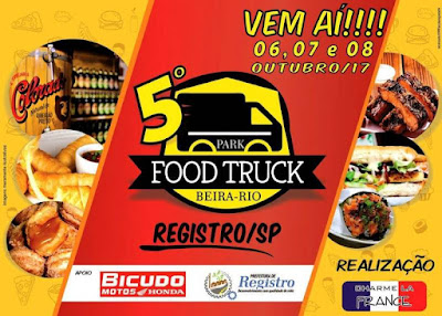 Registro-SP terá o 4º Tattoo Day e 5º Park Food Truck neste final de semana