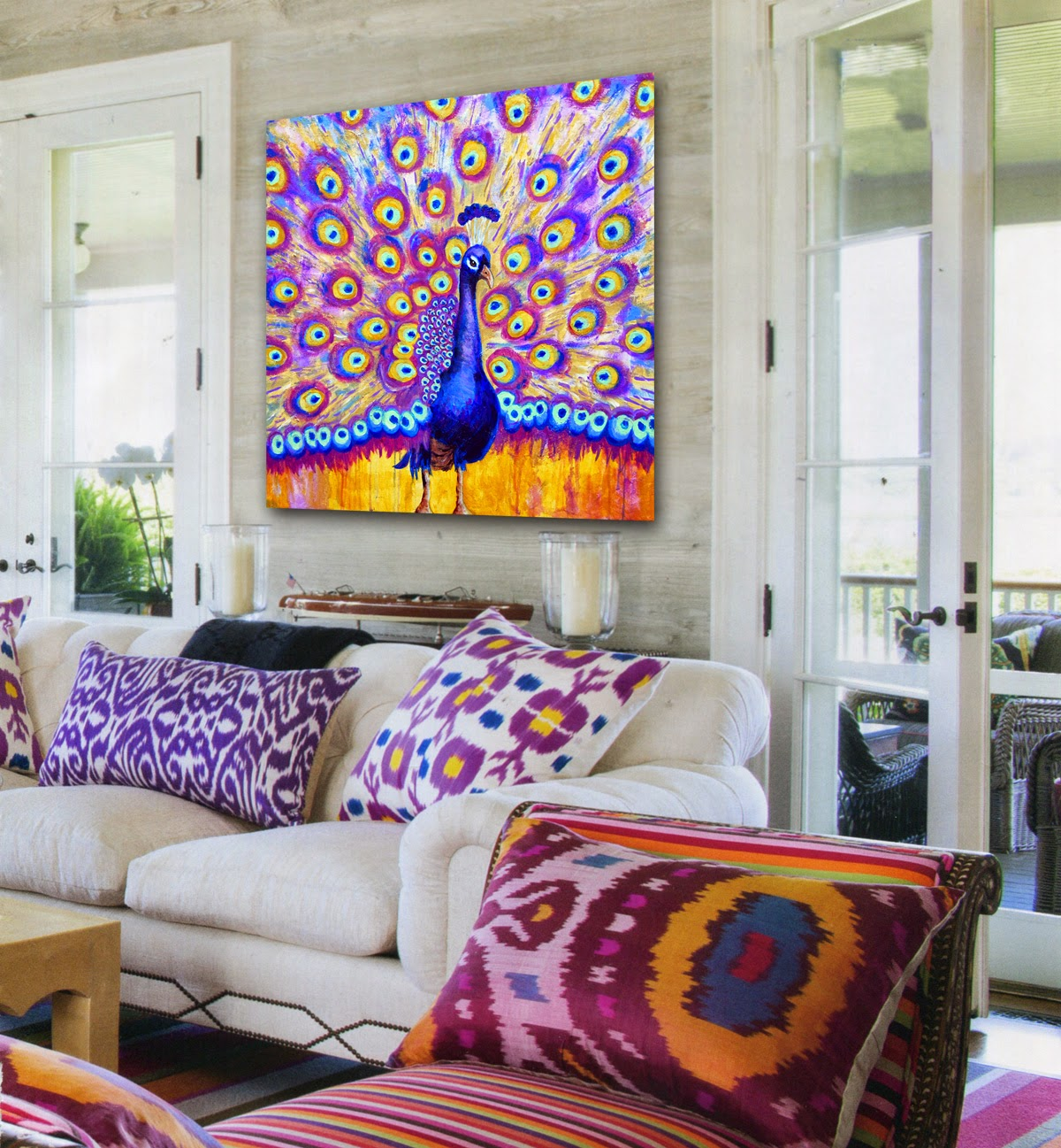 Peacock Living Room Transform Your Boring Living Room In 3 Easy Steps Schulman Art