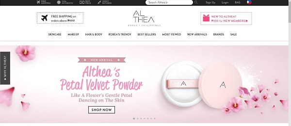 Althea Petal Velvet Powder Review