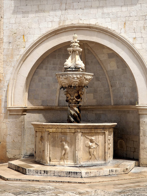 Small Onofrio Fountain, Dubrovnik, Croatia