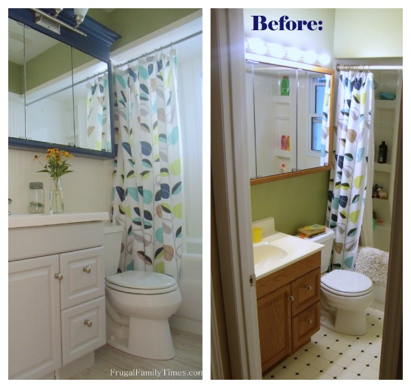 How to install peel and stick vinyl tile that you can for How to reno a bathroom