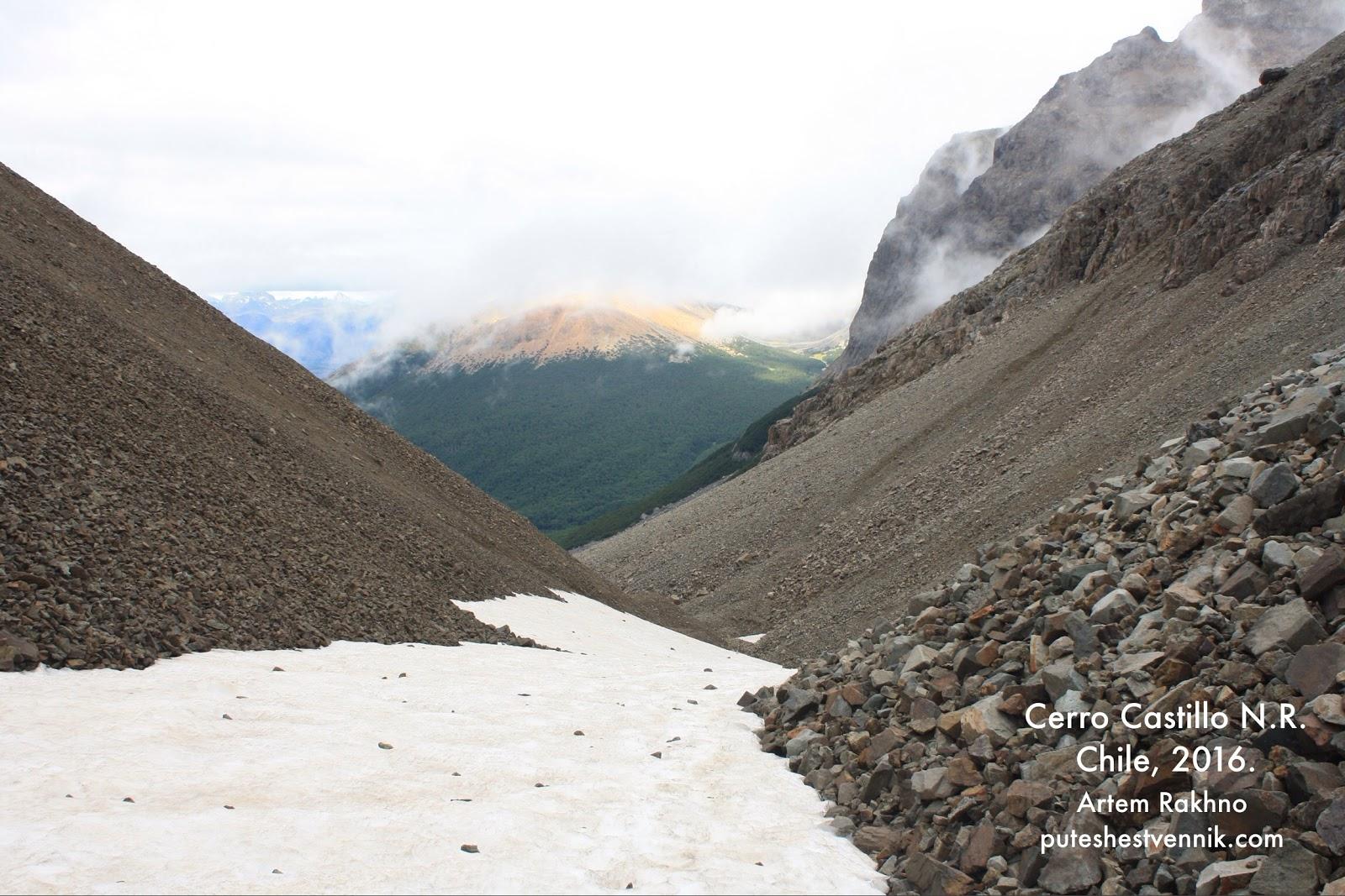 Преодоление перевала в горах Чили