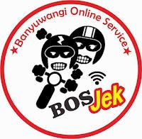 Bos Jek, Jasa ojek online Banyuwangi.