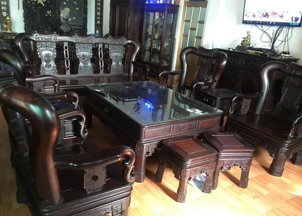 Khác nhau giữa bộ bàn ghế gỗ trắc 10 món và 6 món