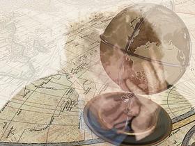 古地図(素材使用)